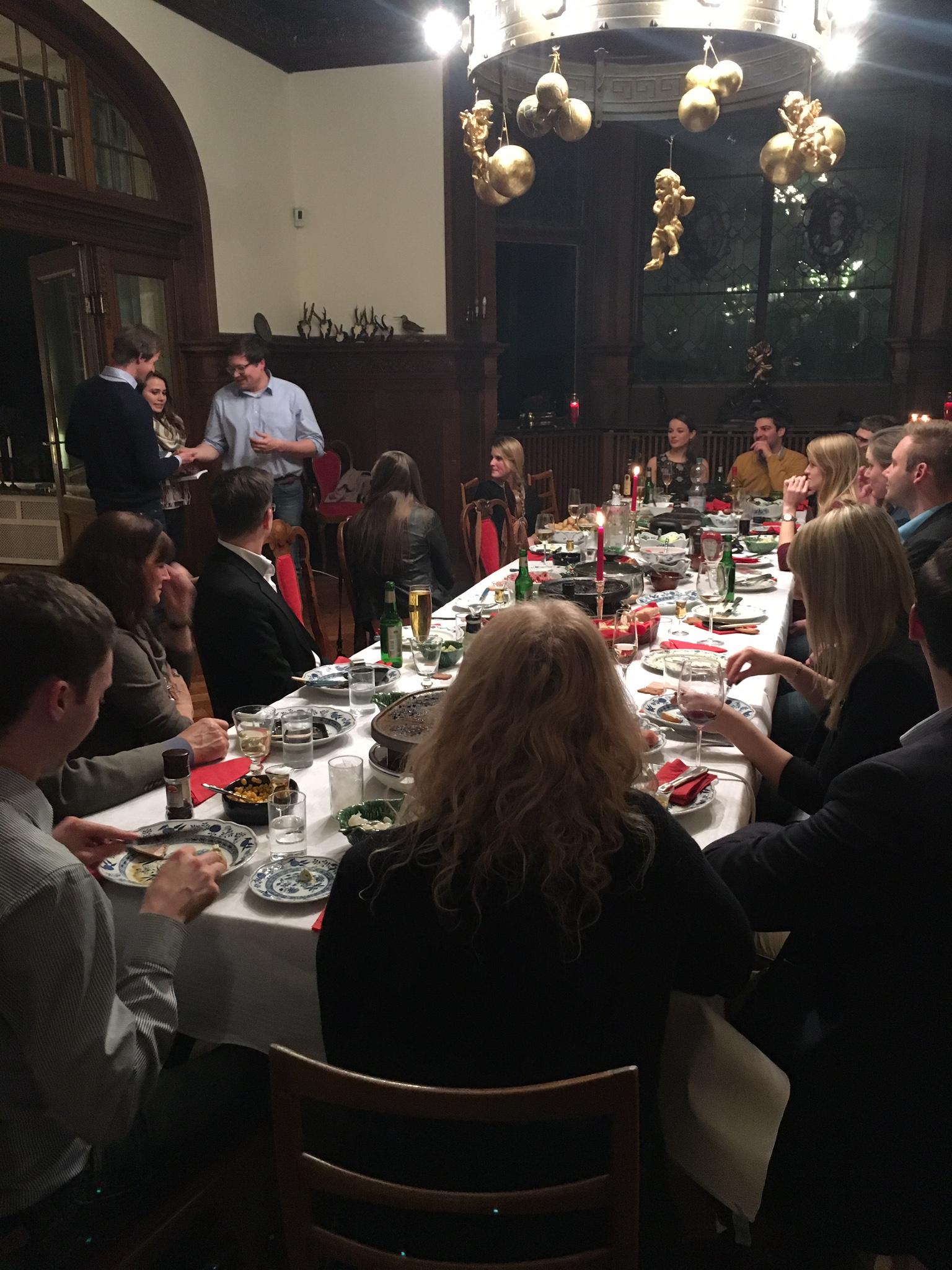 Oldenburg Weihnachtsfeier.Weihnachtsfeier 2015 Rotaract Club Oldenburg